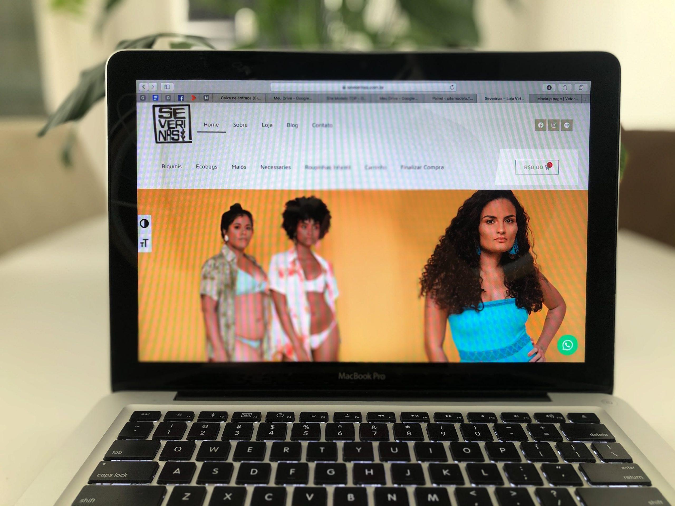 Site Severinas moda regional, de Sergipe para o mundo